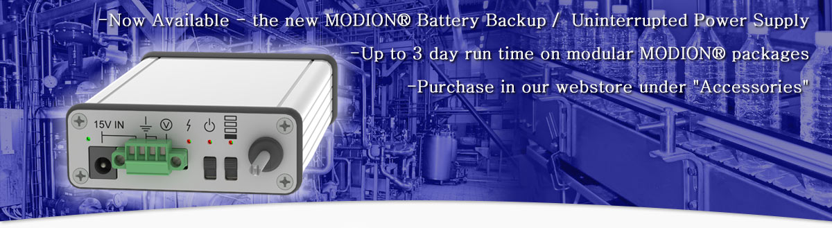 Modion Pump Battery Backup
