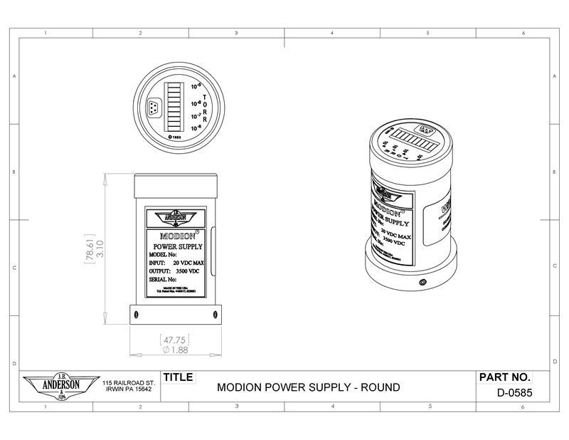 Vdc Power Supply